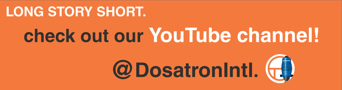 Dosatron Youtube