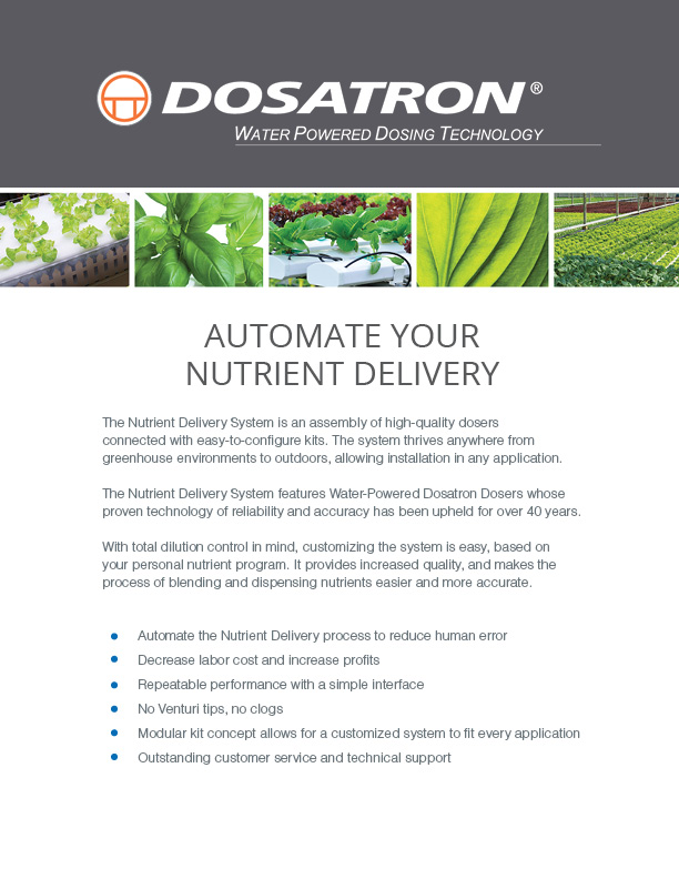 Automate Your Nutrient Delivery
