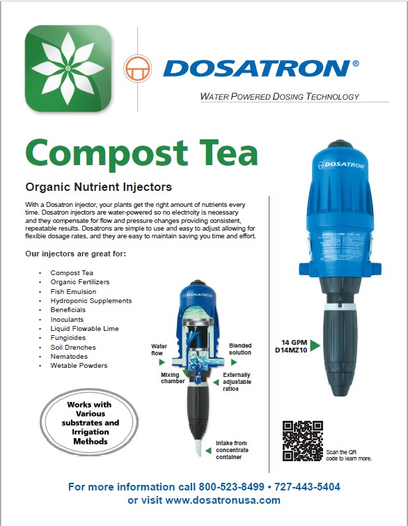 Compost Tea flyer