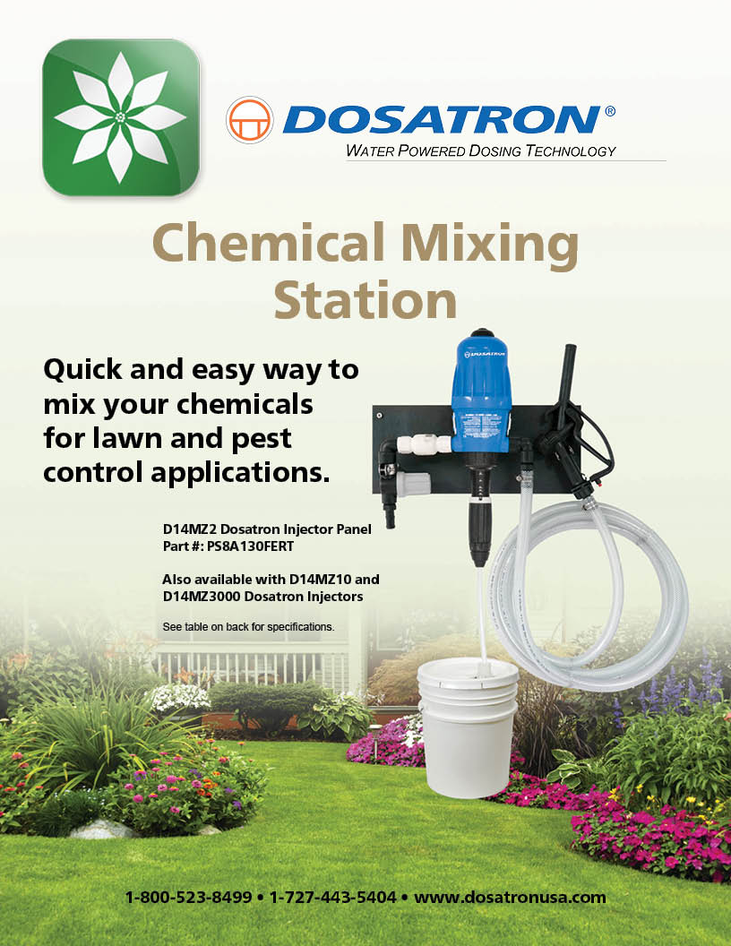 Chemical Mixing Station Flyer
