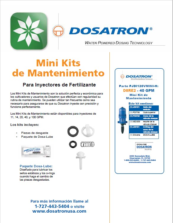 Circular Mini Kits de Mantenimiento